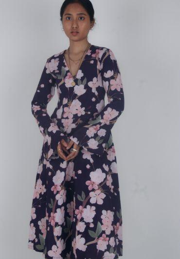 Floral Kurta-Pant Set