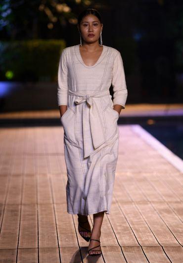 Handwoven Midi Dress