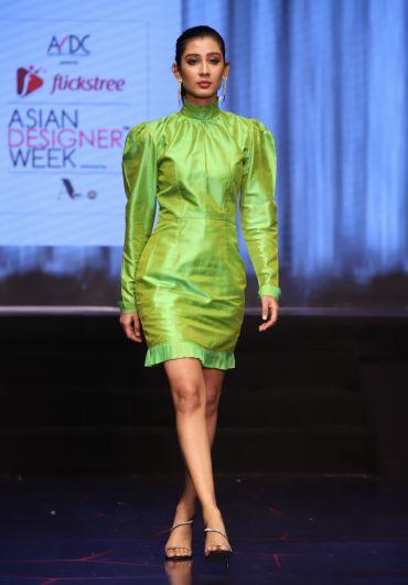 Zonaki Green Dress